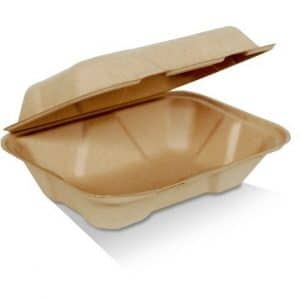 Bamboo Takeaway Clam Shell