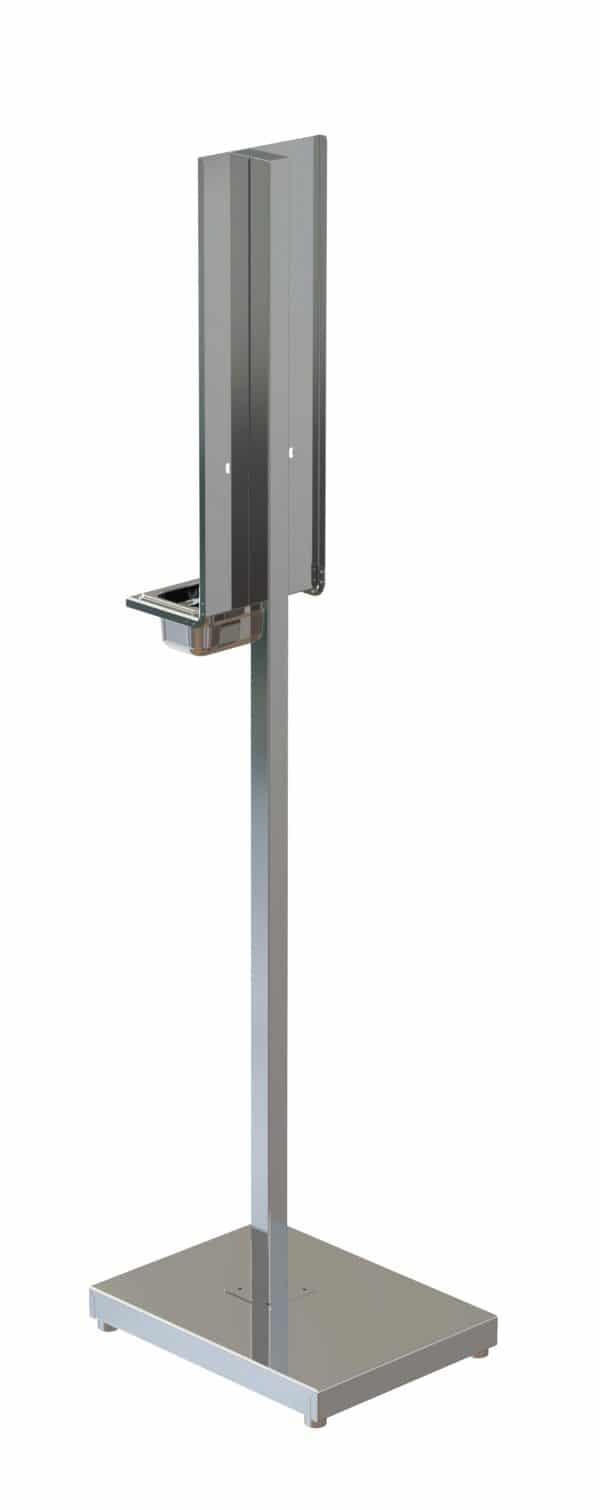 Hand Sanitiser Dispenser Stand Rear