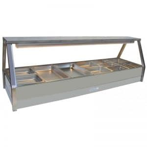 Roband Hot Food Display Double Row