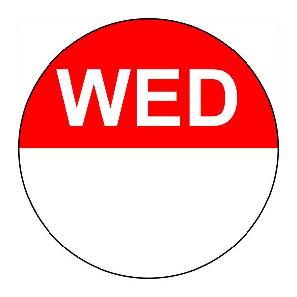 Daydot Label Wednesday